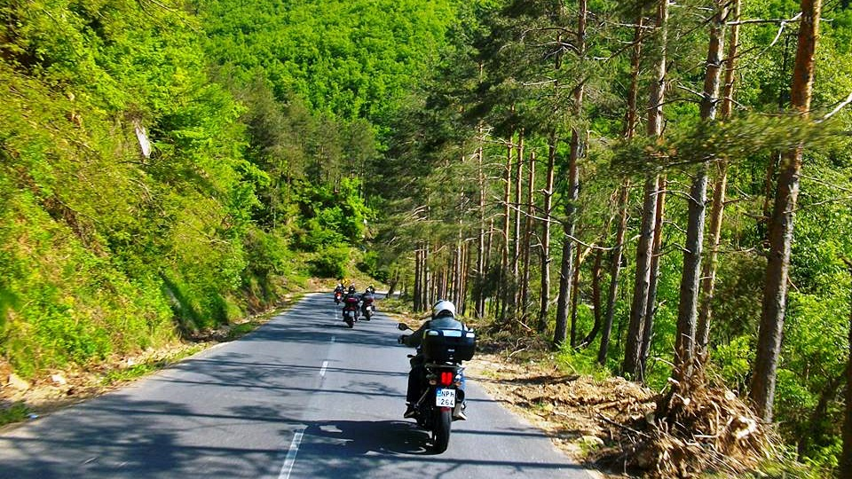 ταξίδι με μηχανή Βουλγαρία