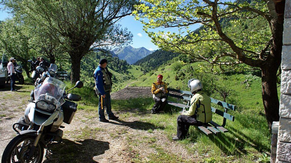 ταξίδι με μοτοσυκλέτα στην Ελλάδα