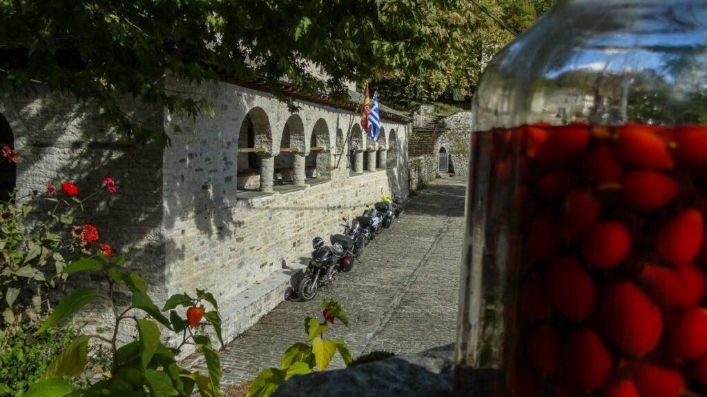 ταξίδι με μηχανή στην Ελλάδα